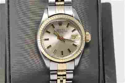 ROLEX LADIES 6917 26MM Jubilee Band Date Acrylic