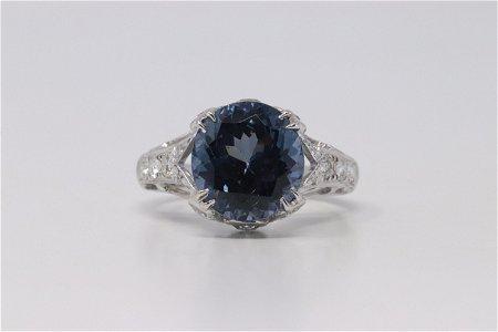 18Kt White Gold Diamond Ring.