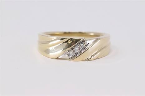Men's Diamond Ring.