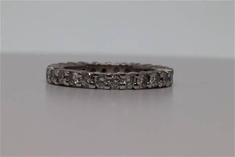 18Kt Eternity Diamond Ring