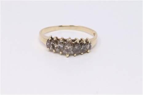 14KT Ladies Diamond Ring.