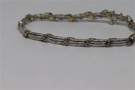 1.00tcw Diamond Bracelet