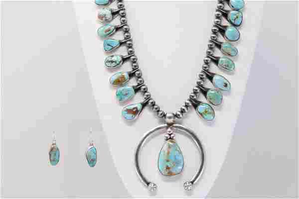 Native America Handmade Navajo Sterling Silver Roy