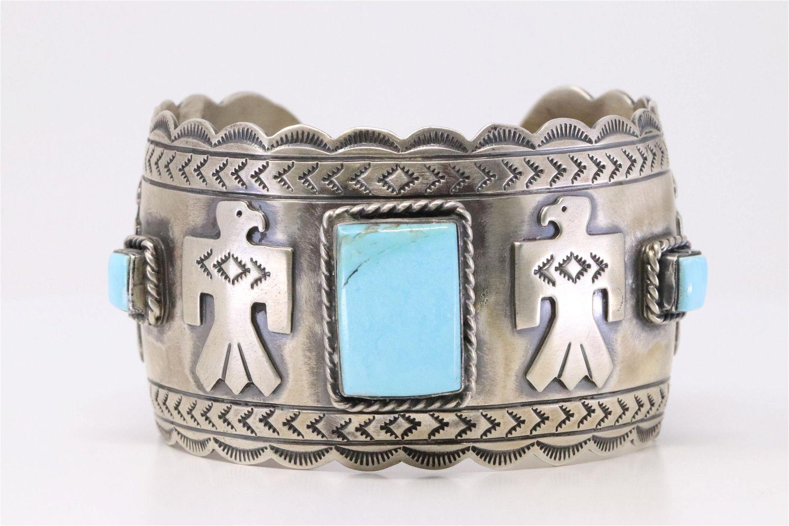 Native America Navajo Handmade Sterling Silver