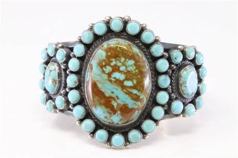 Native America Navajo Handamde Sterling Silver