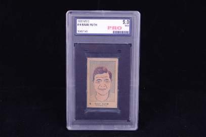 1926 Babe Ruth Tobacco Card