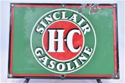 Sinclair Super Flame Oil for Heat Porcelain Sign