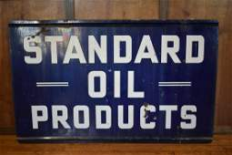 Standard Oil Products Porcelain Double Sided