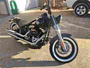 2016 Harley Davidson FLS Softail Slim One owner bike