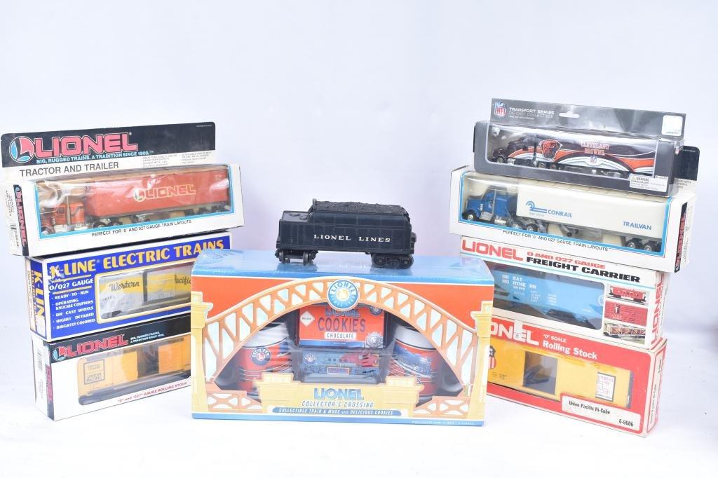 Lionel Rolling Stock Trucks & Kline Car