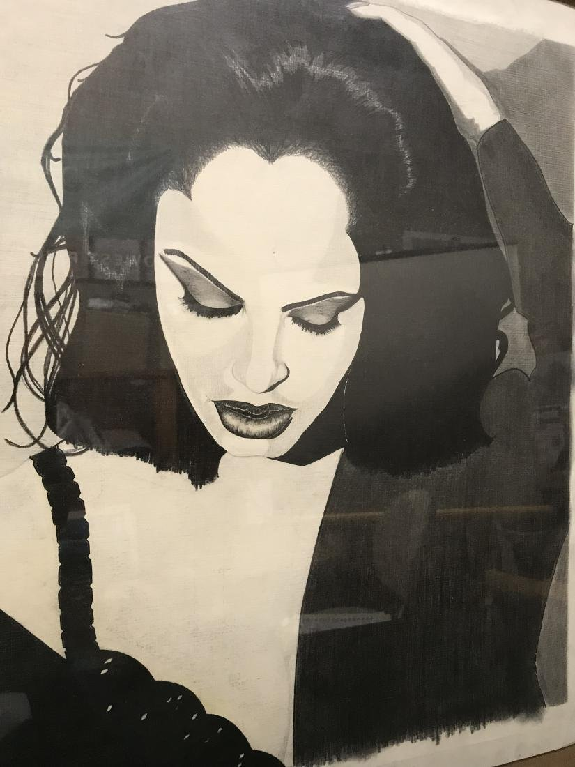 Framed Art African American Woman Drew Davis - 3
