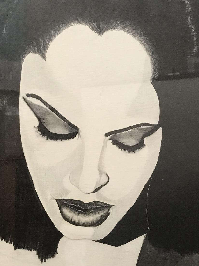 Framed Art African American Woman Drew Davis - 4