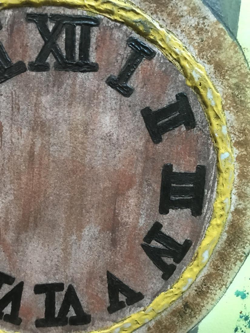 Drew Davis Original Art Signed Wristwatch with Roman - 2