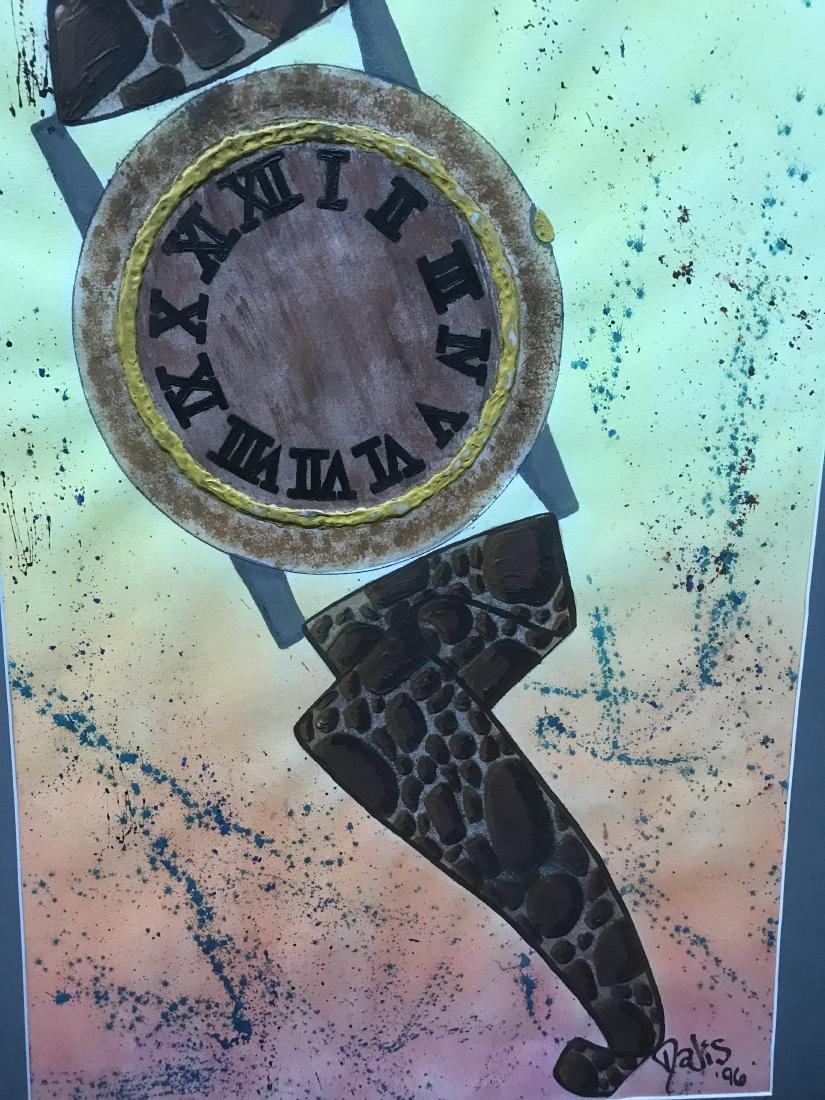 Drew Davis Original Art Signed Wristwatch with Roman - 6
