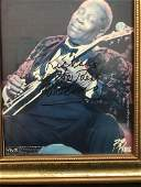 Autograph and Personalization of BB King  Lucille