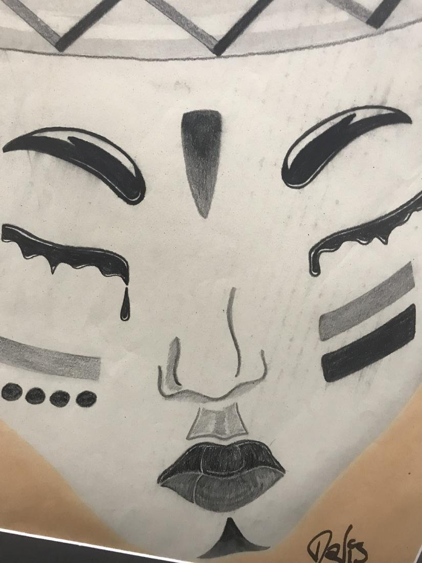 Drew Davis Original  African Style Mask - 6