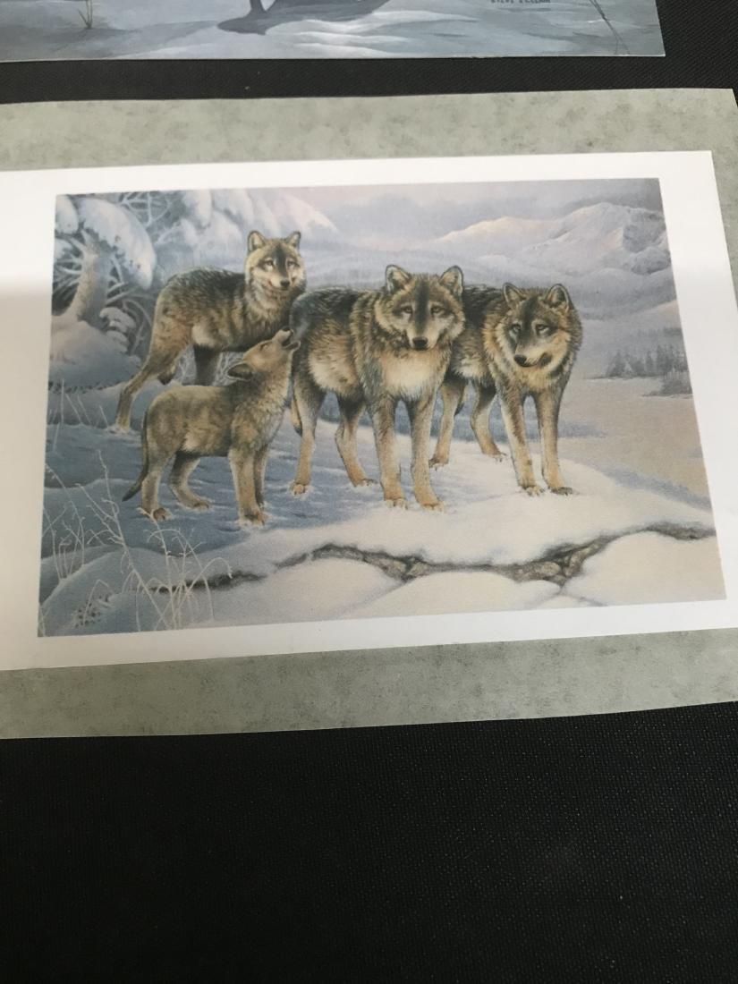 Lot Postcards Dogs Animals Art - 4