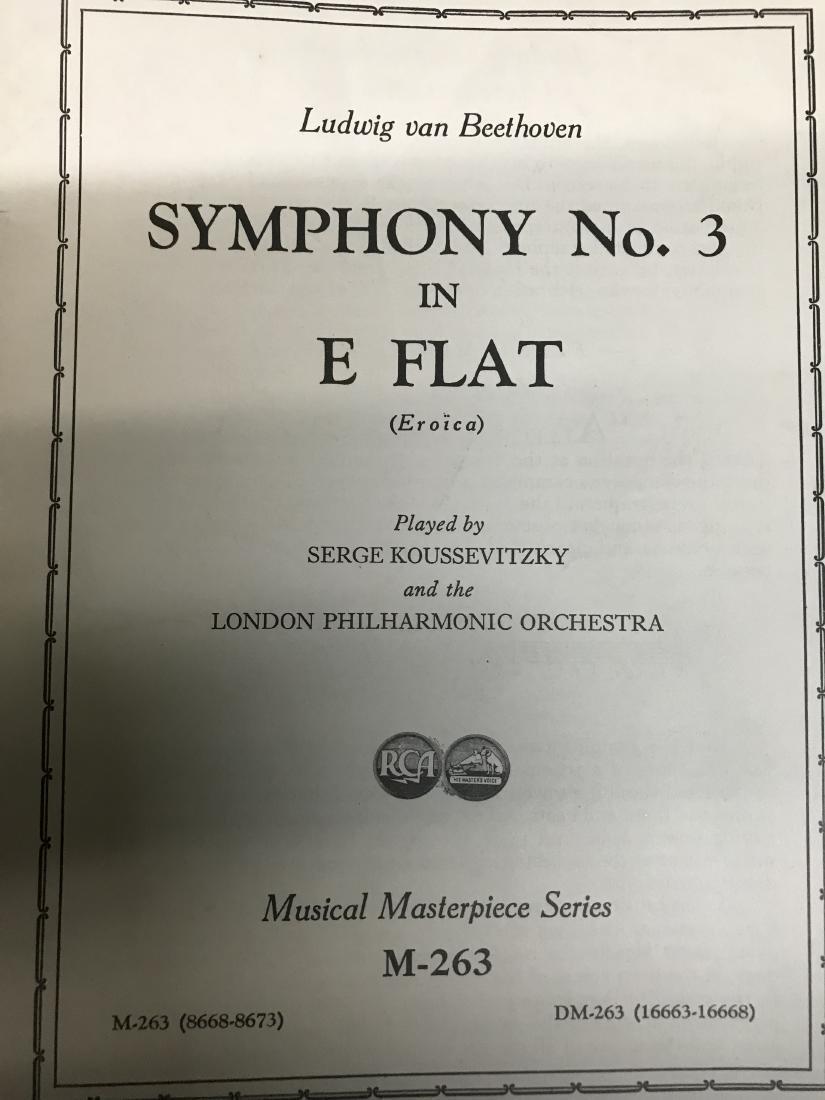 Lot Symphony Sheet music - 2
