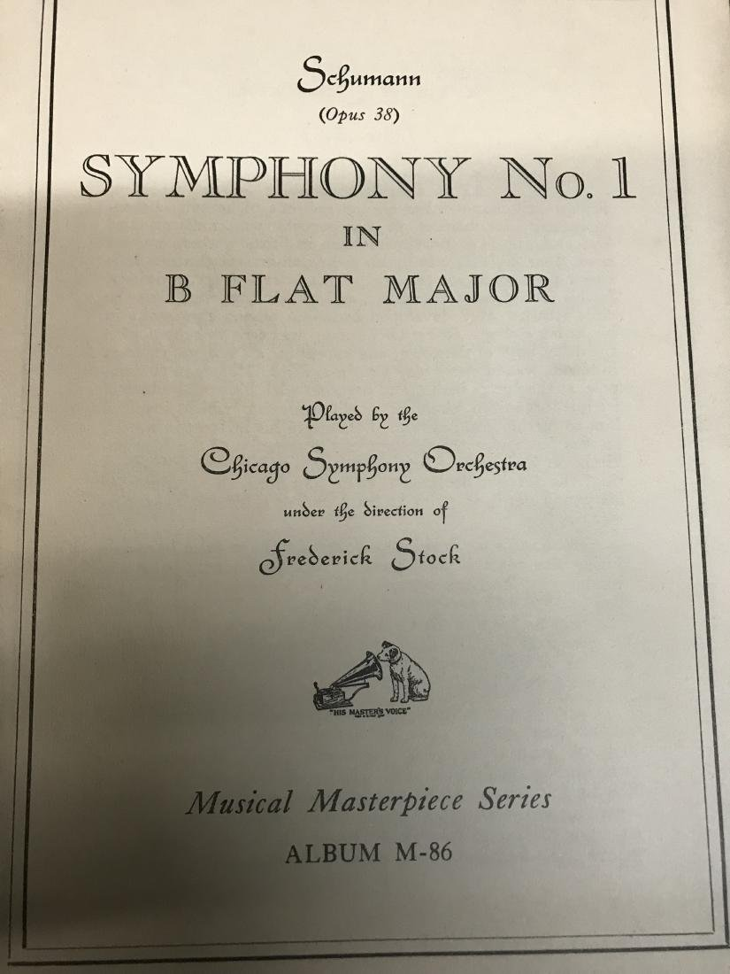 Lot Symphony Sheet music - 5
