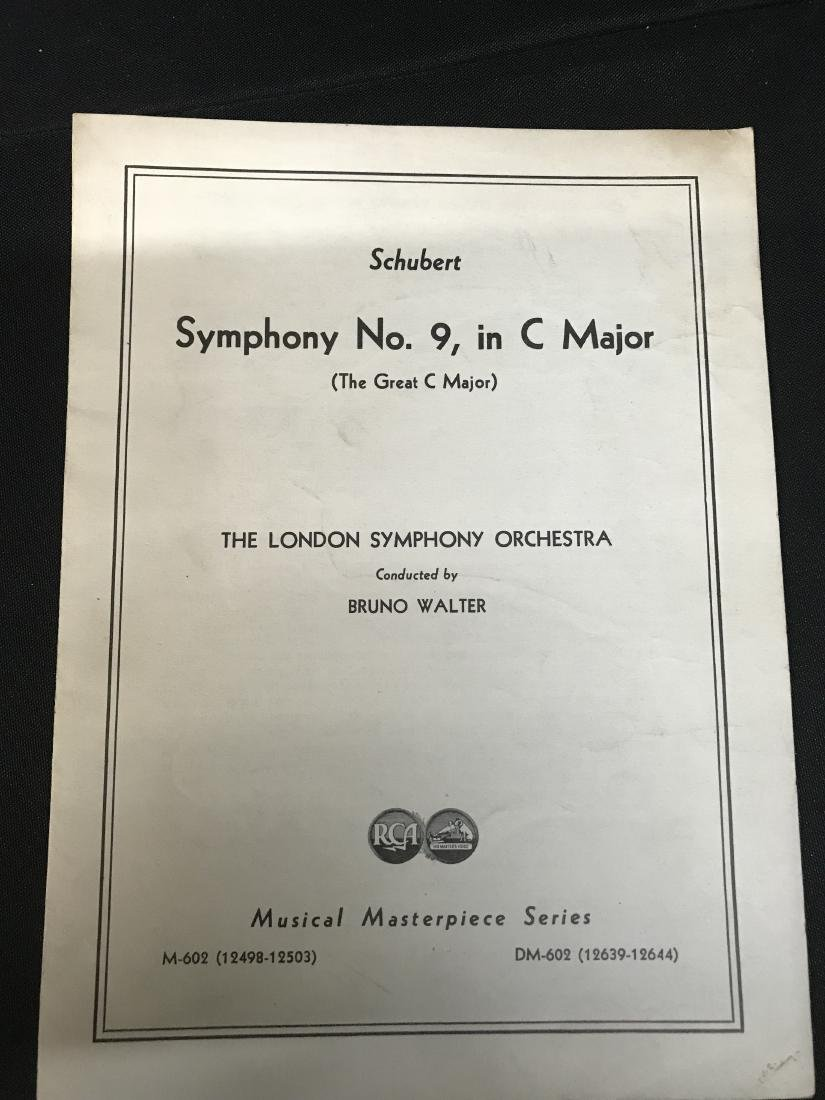 Lot Symphony Sheet music - 8