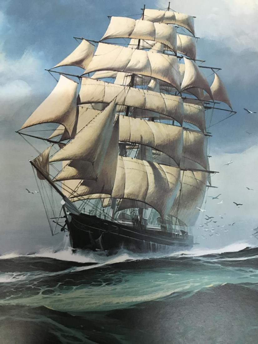 Print of the Cutty Sark Sailing Ship - 2