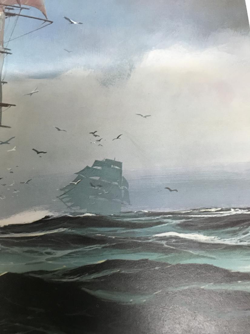 Print of the Cutty Sark Sailing Ship - 3