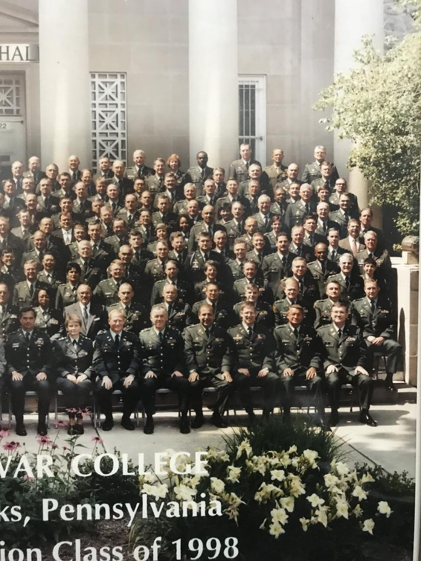 Framed Photo US Army War College 1998 - 2