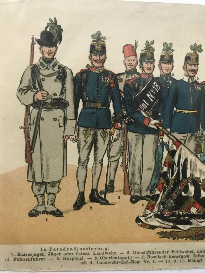 German Parade Uniforms of Officer and Enlisted Ranks In - 2