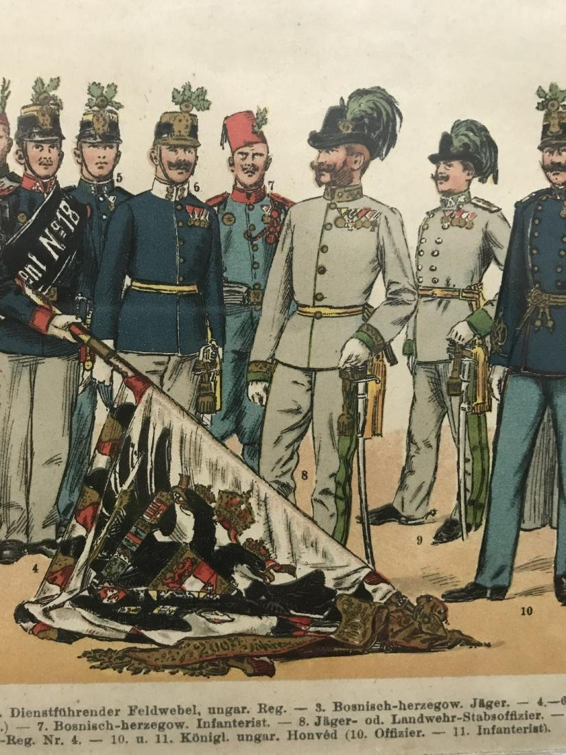 German Parade Uniforms of Officer and Enlisted Ranks In - 3