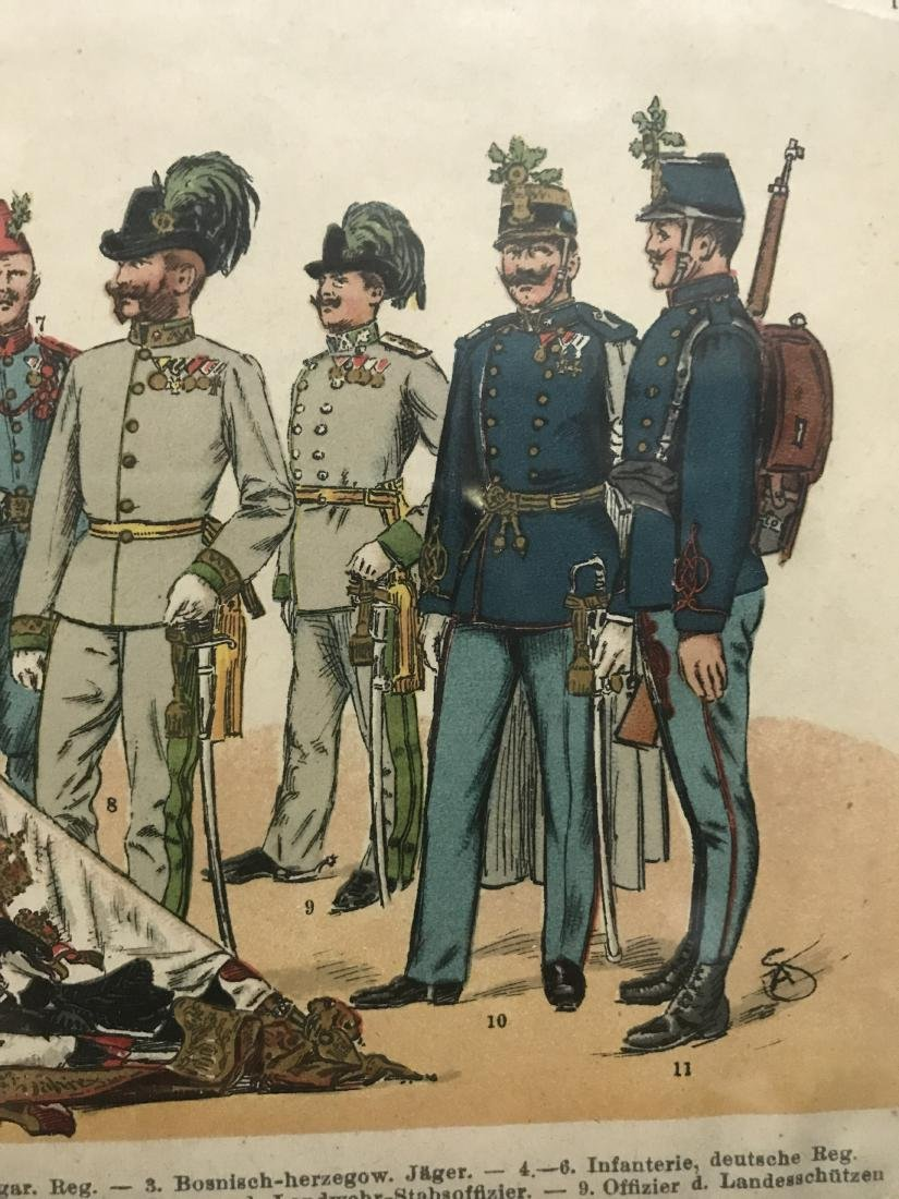 German Parade Uniforms of Officer and Enlisted Ranks In - 4