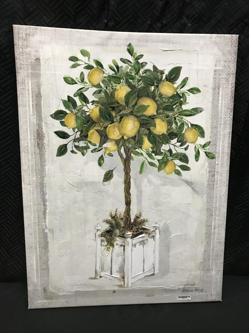 Kathryn White Lemon Tree Signed Nov