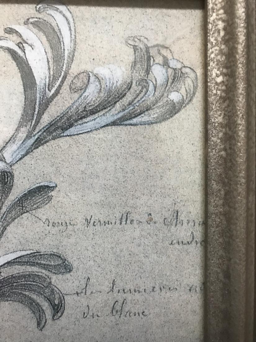 Print of Chrysanthemum Leaves with Printing - 3