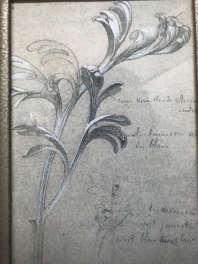Print of Chrysanthemum Leaves with Printing - 4