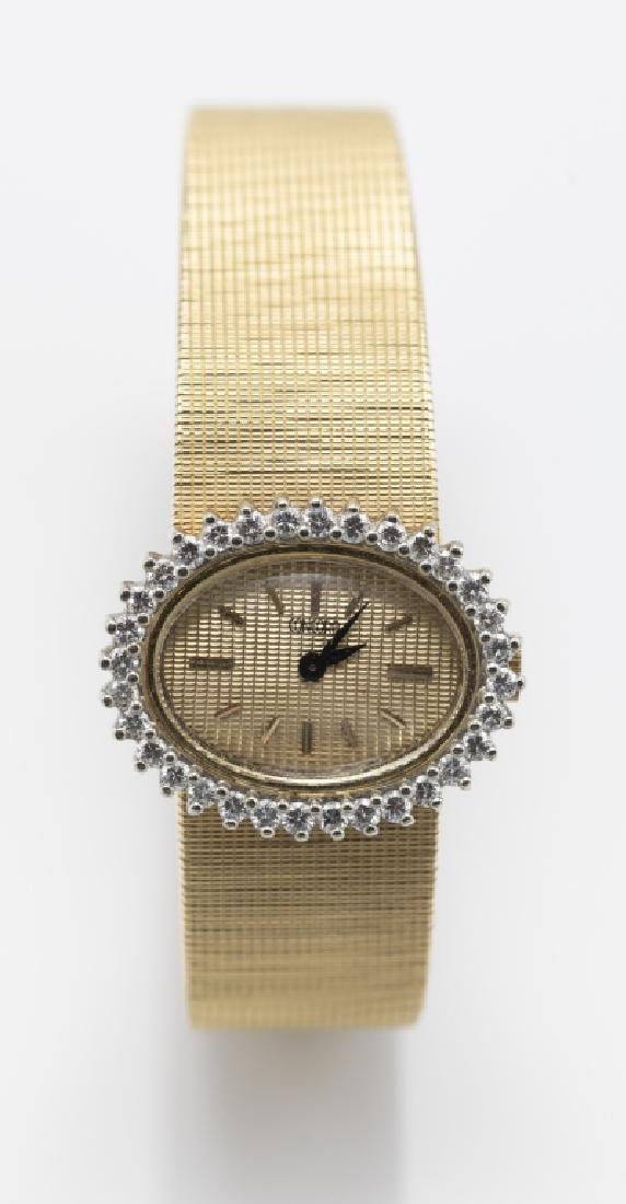 A Concord ladies diamond, 18k wristwatch