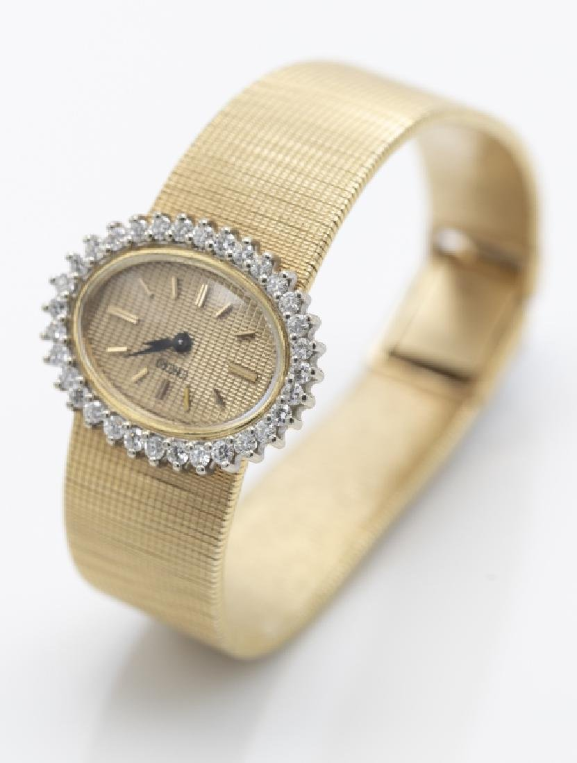 A Concord ladies diamond, 18k wristwatch - 2