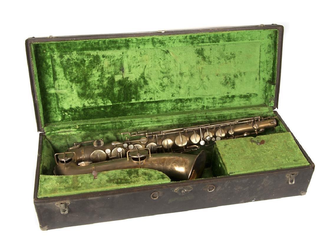 A Buescher Elkhart saxaphone in case - 3
