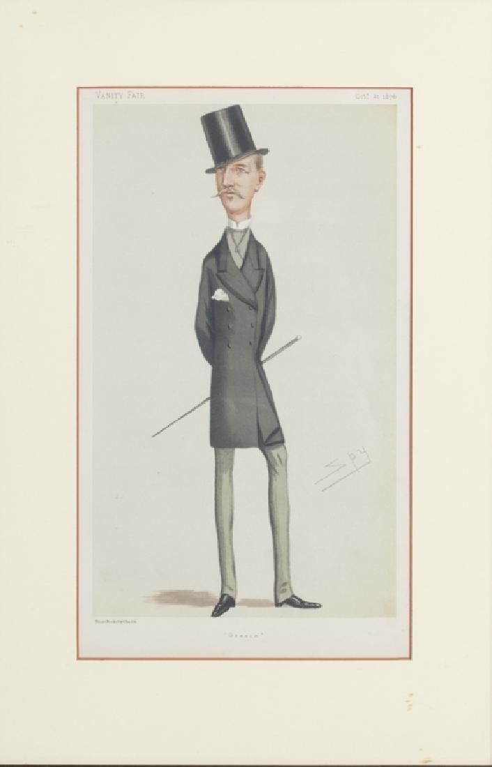 Vanity Fair caricature illustrations, 1875-1896