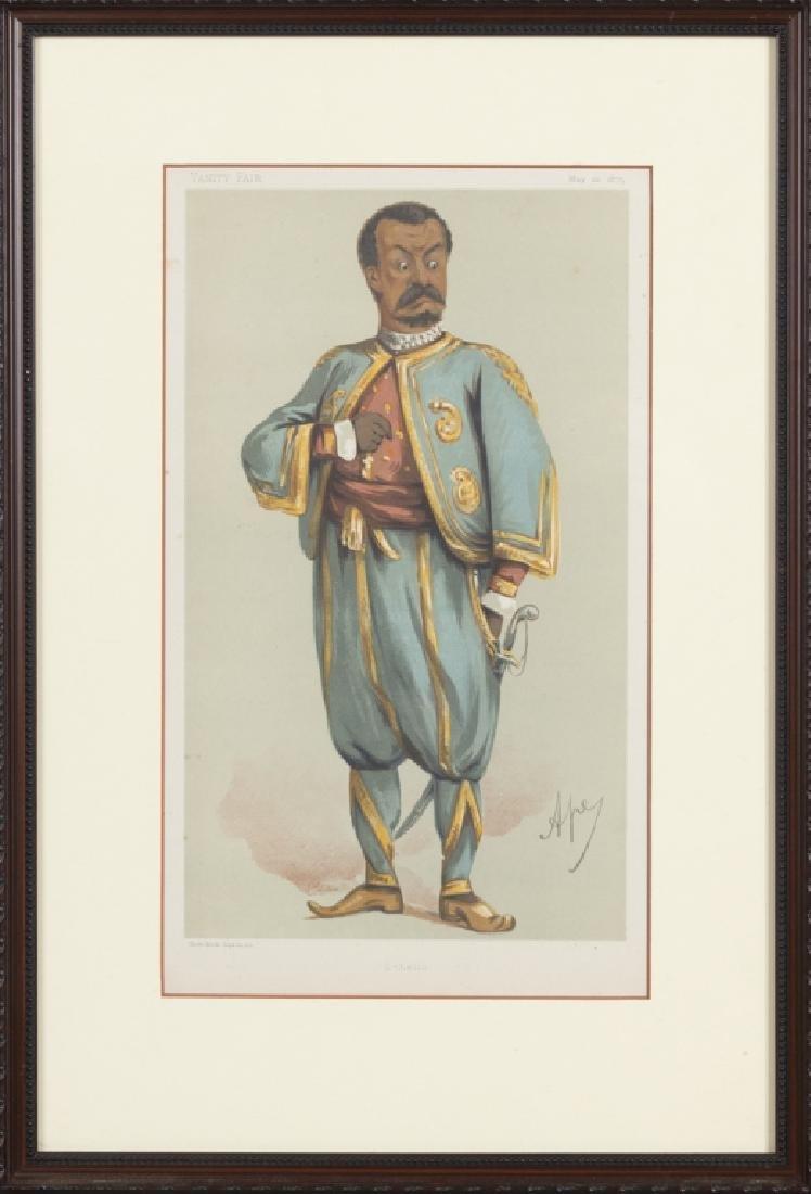 Vanity Fair caricature illustrations, 1875-1896 - 2