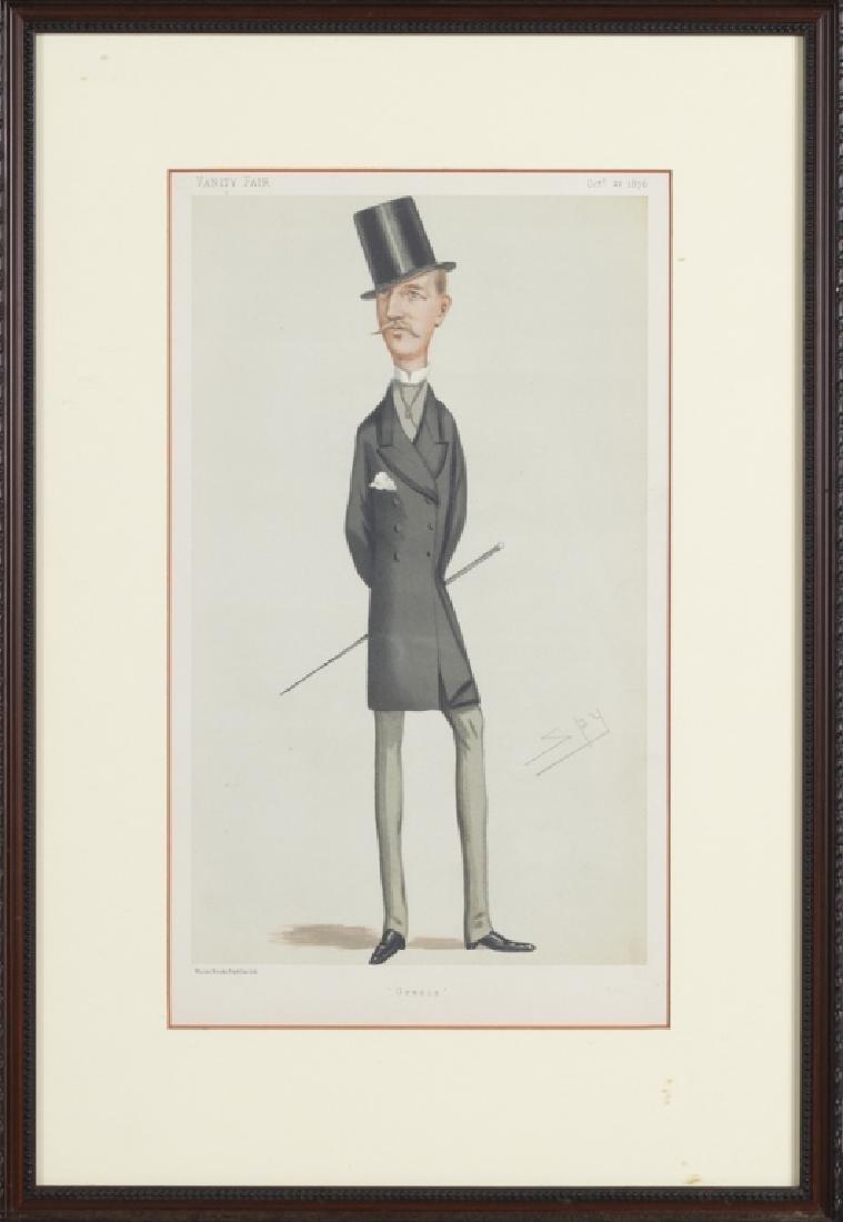 Vanity Fair caricature illustrations, 1875-1896 - 5