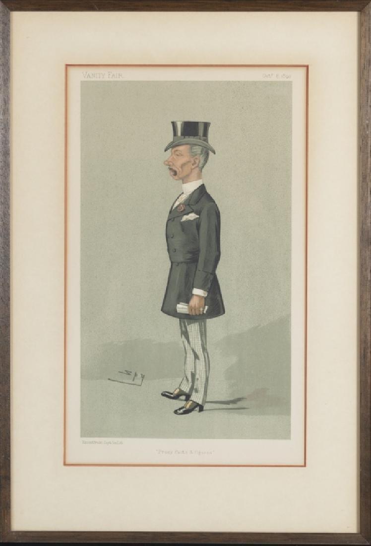 Vanity Fair caricature illustrations, 1875-1896 - 6