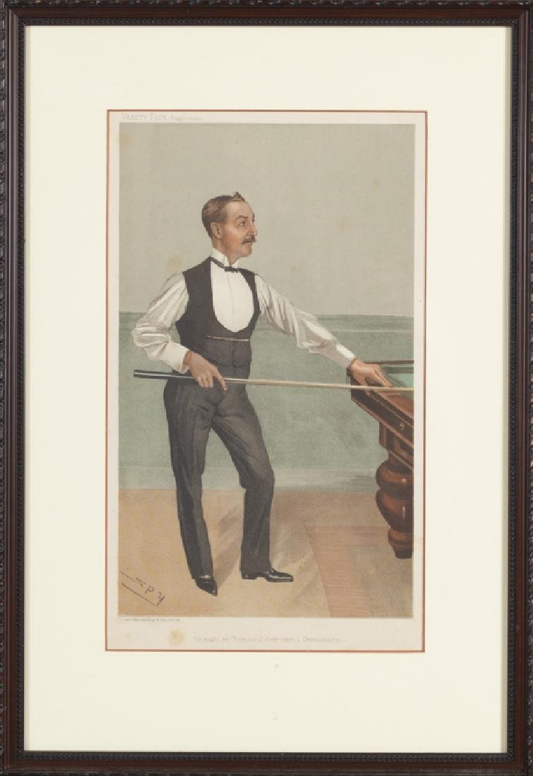 Vanity Fair caricature illustrations, 1875-1896 - 7