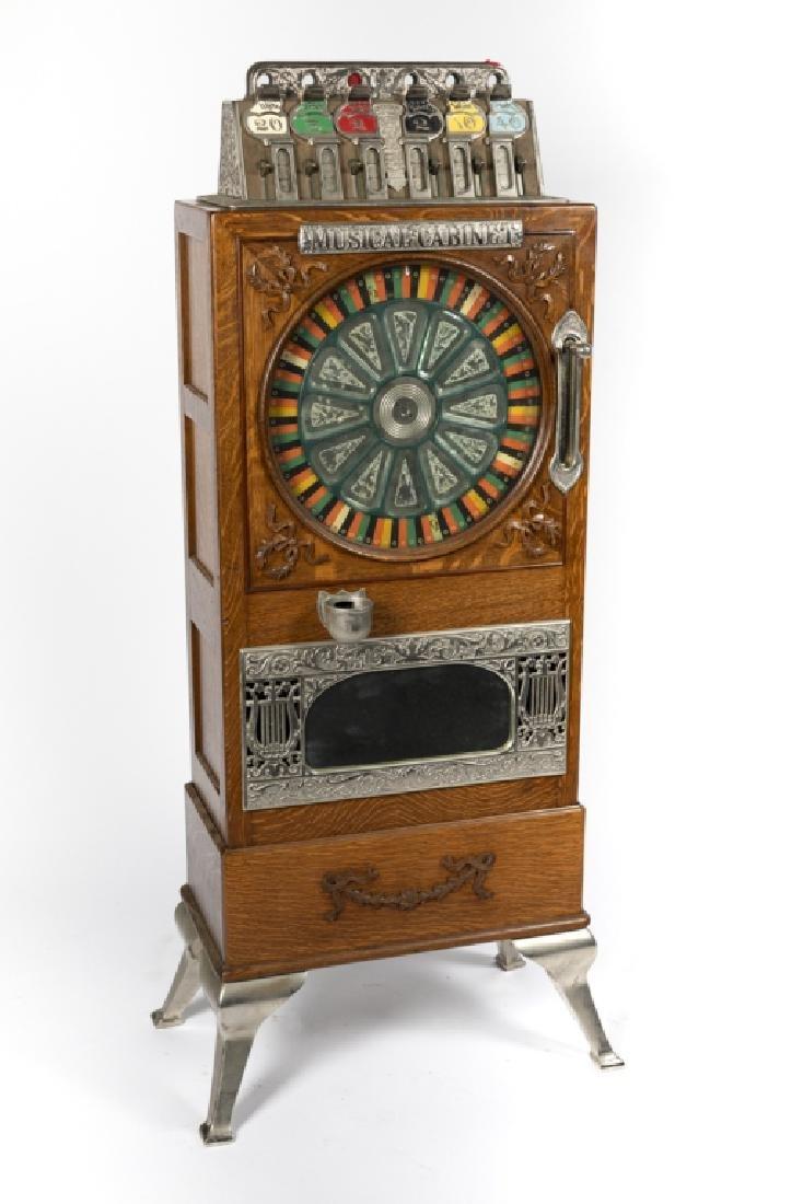 A Musical Cabinet upright slot machine