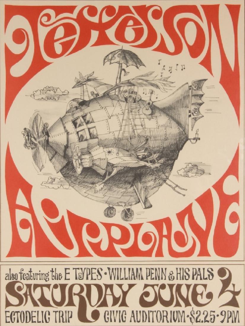 A Jefferson Airplane poster 1966