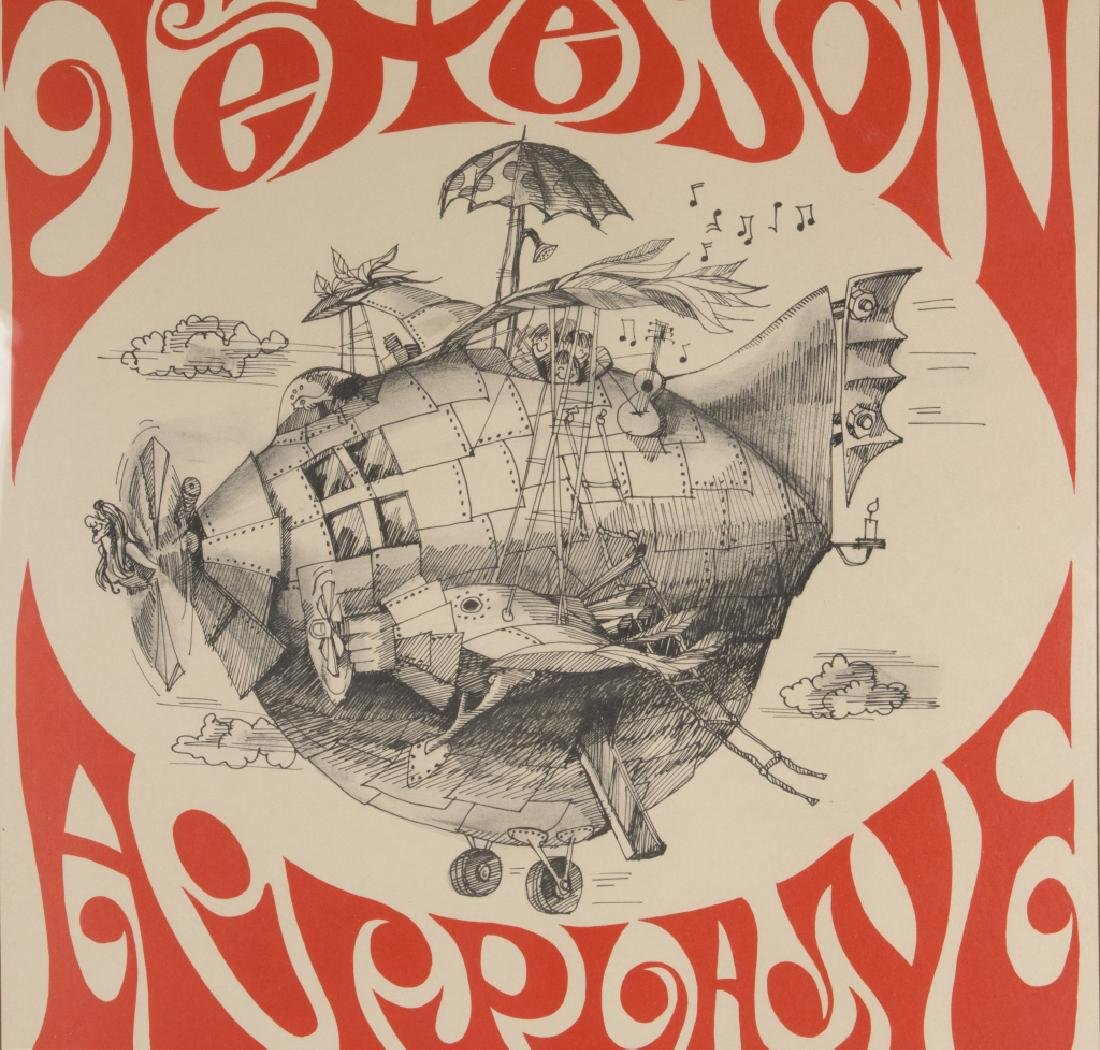 A Jefferson Airplane poster 1966 - 2