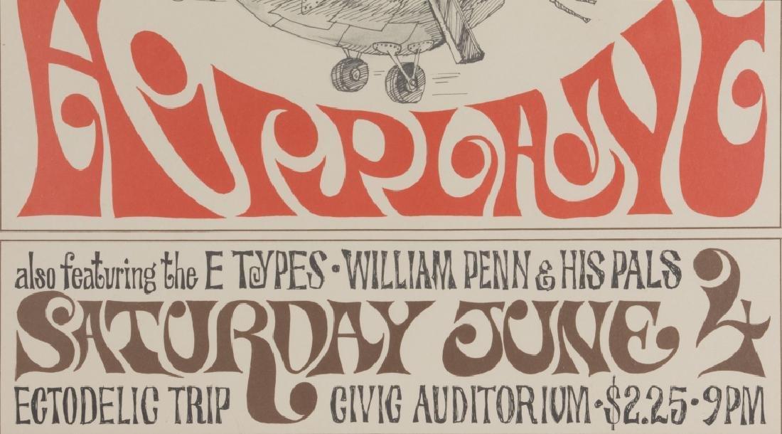 A Jefferson Airplane poster 1966 - 3