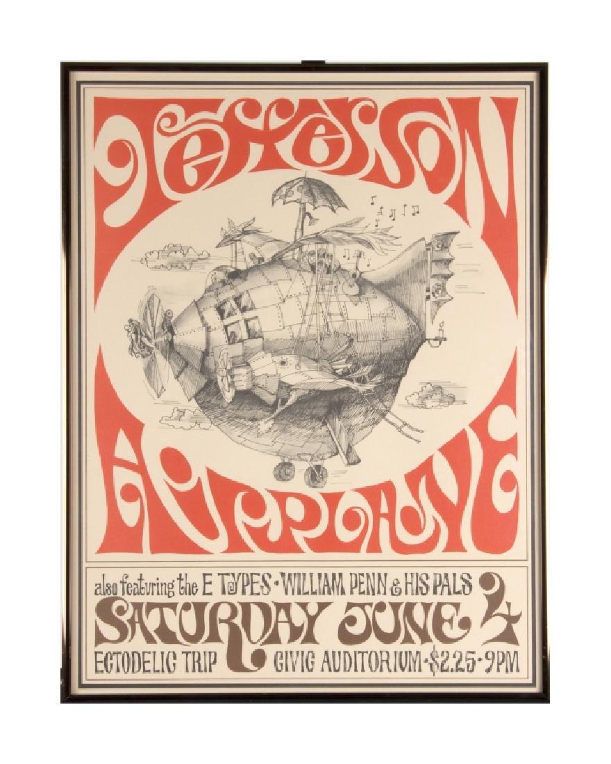 A Jefferson Airplane poster 1966 - 4