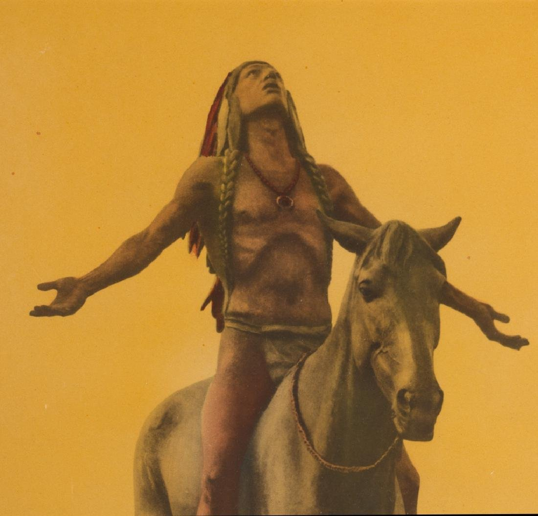 A photograph of a Native American - 3