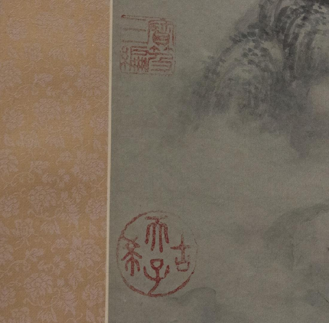 A Chinese decorative hanging scroll - 3