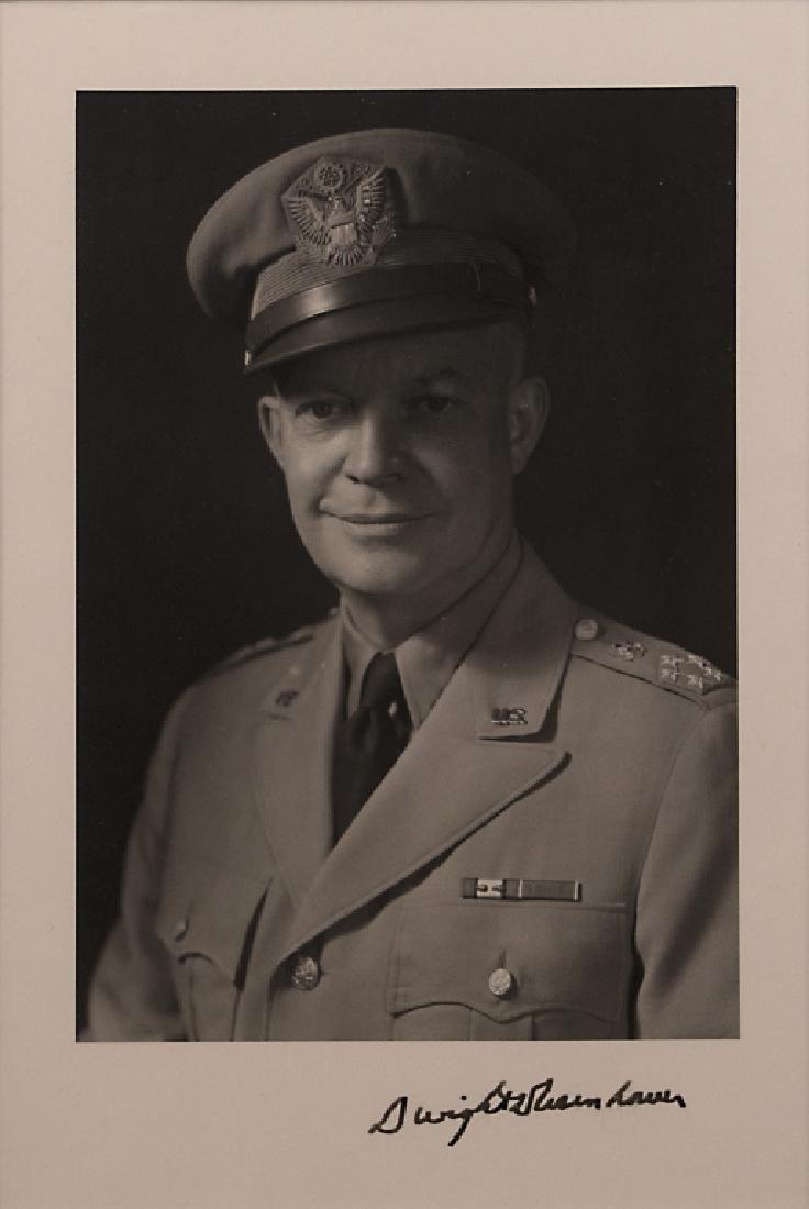 A Dwight D. Eisenhower autograph