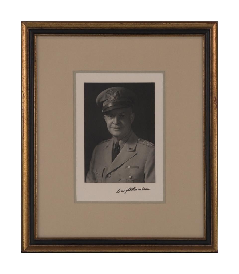 A Dwight D. Eisenhower autograph - 2